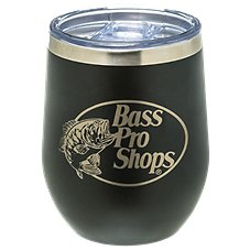 PURE Drinkware Bass Pro Shops Logo Stemless Wine Glass