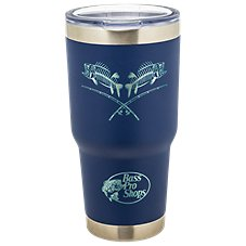 PURE Drinkware Bass Pro Shops Fish Bones Stainless Steel Tumbler