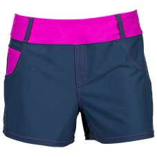 Free Country Mix and Match Collection Denim-Look Swim Shorts for Ladies