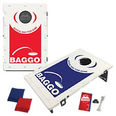 BAGGO Bean Bag Toss Portable Cornhole Game