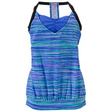 Free Country Mix and Match Collection Sunset Stripe Tankini for Ladies