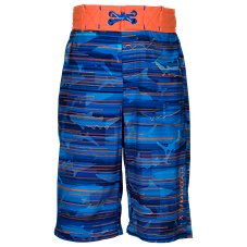 Free Country Shark Beam Board Shorts for Boys