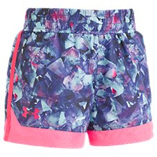 Under Armour Metaquartz Run Shorts for Toddlers or Girls