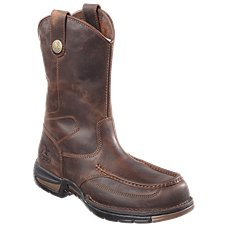 Georgia Boot Athens Rear Zip Work Boots for Men