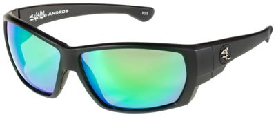 6282af2e029 Salt Life Andros Polarized Sunglasses Matte BlackCopperGreen Mirror  229.99  Andros Polarized Sunglasses are some of the first Saltife sunglasses to  feature ...