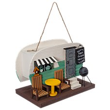 Sunset Vista Designs Camper Trailer Birdhouse