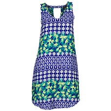 Natural Reflections Tropical Print Dress for Ladies