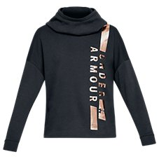 Under Armour Rival Fleece Funnel-Neck Hoodie for Ladies Image