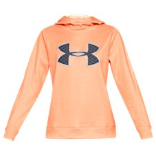 Under Armour Synthetic Fleece Big Logo Hoodie for Ladies Image