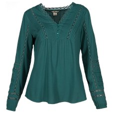 154166aa6a Bob Timberlake Lace Inset Blouse for Ladies. More Colors Available