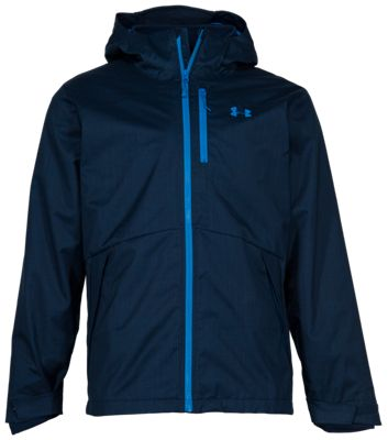 Under Armour Porter 3-in-1 Update Jacket for Men - Academy/Academy/Cruise Blue - 3XL