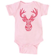 Bass Pro Shops My Daddy Loves Me More Than Hunting Bodysuit for Babies