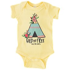 Bass Pro Shops Wild and Free Bodysuit for Babies