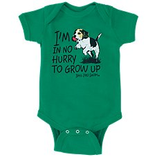 Bass Pro Shops No Hurry to Grow Up Bodysuit for Babies