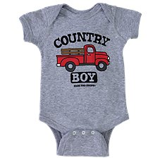 Bass Pro Shops Country Boy Bodysuit for Babies