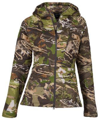 Under Armour Brow Tine Hoodie for Ladies – Ridge Reaper Camo Forest – S