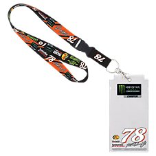NASCAR Martin Truex Jr. #78 Lanyard and Credential Holder