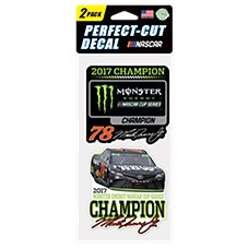 NASCAR Perfect-Cut Champion #78 Martin Truex Jr. Decal Set
