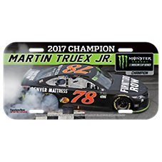 NASCAR Martin Truex Jr. #78 License Plate