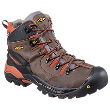 KEEN Utility Pittsburgh Waterproof Steel Toe Work Boots for Men