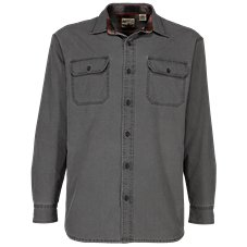RedHead Flannel-Lined Ripstop Utility Shirt for Men