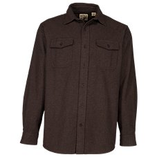 RedHead Bear Creek Solid Flannel Shirt for Men Image