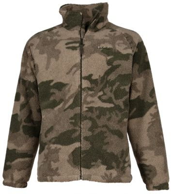 Cabela's Outfitter Series Berber Jacket with 4MOST WINDSHEAR for Men - Cabela's Outfitter Camo - 3XL