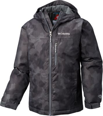 Columbia Magic Mile Jacket for Boys – Grill Camo Lines – S