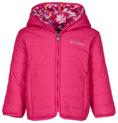 d84229154 Columbia Double Trouble Reversible Jacket for Toddlers Cactus Pink ...