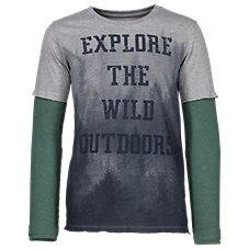 Bass Pro Shops Explore the Wild Outdoors Shirt for Toddlers or Kids
