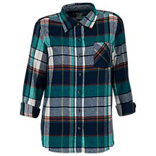 3fd9e4bc16 Natural Reflections Flannel Shirt for Ladies