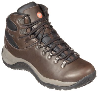 7ab987d0d41 Merrell Reflex All-Leather Mid Waterproof Hiking Boots for Men