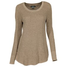 Natural Reflections Rib-Knit Leggings Sweater for Ladies