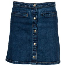 Bass Pro Shops Denim Button Skirt for Toddlers or Girls