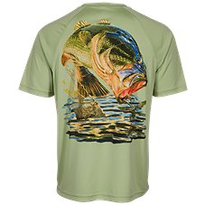 World Wide Sportsman Marina Print Bass T-Shirt for Men