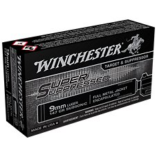 Winchester Super Suppressed Handgun Ammo