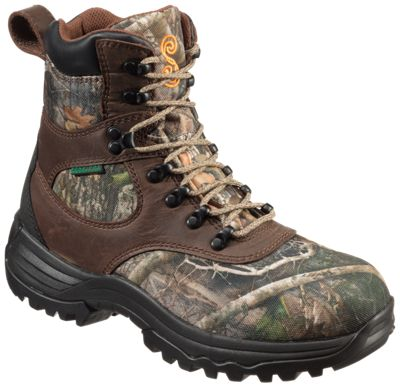 SHE Outdoor Expedition Ultra BONE-DRY Waterproof Hunting Boots for Ladies – Brown/TrueTimber Kanati – 7M
