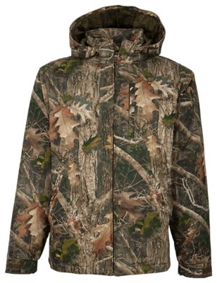 New redhead camo color work jacket