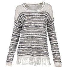 Natural Reflections Fringe Pullover for Ladies