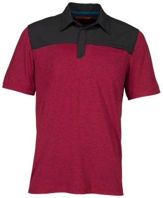 511 Tactical Rapid Short Sleeve Polo Shirt for Men Engine Red XL