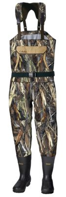 Cabela's Waterproof Breathable Hunting Waders for Men – TrueTimber DRT – 10 Stout