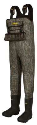 Cabela's SuperMag Chest Waders for Men – Mossy Oak Bottomland – 14 Regular