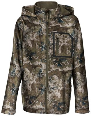RedHead Lookout Fleece Hunting Jacket for Youth - TrueTimber Strata - M