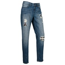 Natural Reflections Lakeside Destructed Jeans for Ladies