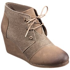 Natural Reflections Hanna Wedge Booties for Ladies