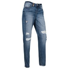 Natural Reflections Easy River Straight Leg Jeans for Ladies