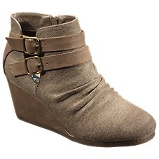 Natural Reflections Anna Wedge Boots for Ladies