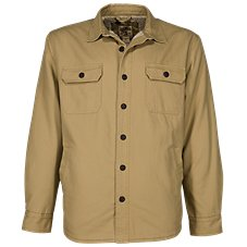 RedHead Sherpa-Lined Canvas Shirt Jacket for Men