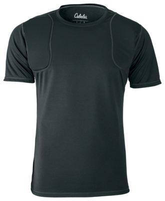 Cabela's Range Recoil Shirt with 4MOST WICK and 4MOST INHIBIT for Men - Black - 3XL
