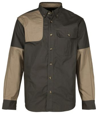 Cabela's Classic II Right-Hand Shooting Shirt for Men – Tundra/Maple – L
